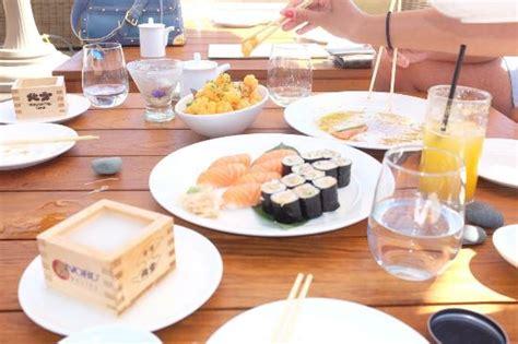 sushi malibu nobu sake and sushi at nobu malibu picture of nobu west