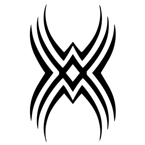 tribal stripes tattoo tribal symbol silhouette vinyl sticker car decal