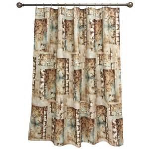 bacova birch reflections shower curtain shower curtains
