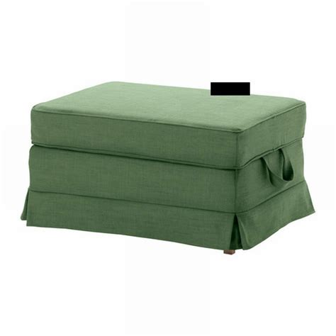 Ikea Ektorp Bromma Footstool Cover Ottoman Slipcover Covering An Ottoman