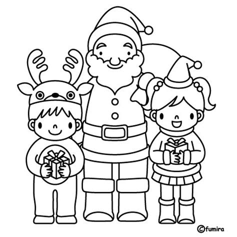 imagenes de santa claus para niños santa claus y los ni 241 os dibujalia dibujos para