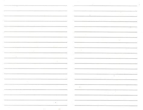 Paper For Journal - best photos of blank spreadsheet with lines table blank