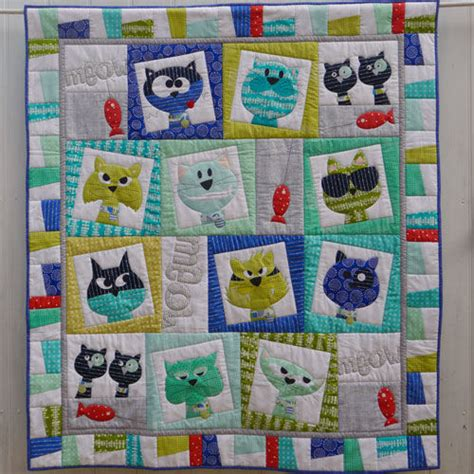 catface quilt kit