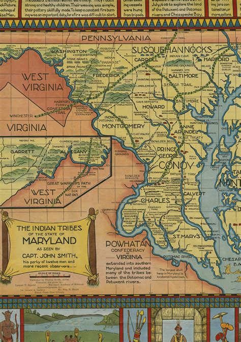 State Of Md Search The Indian Tribes Of The State Of Maryland Md Maps Umd Libraries