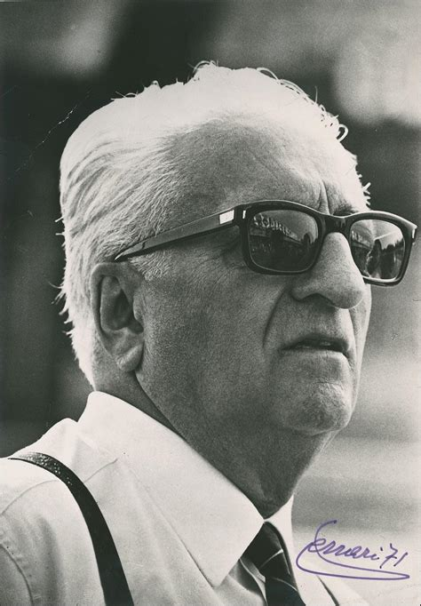 Enzo Ferrari 1988 by Formula One Supporters Club 25 Years On Remembering