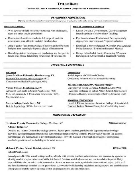 Exles Of Successful Resumes by Successful Resumes Resume Badak