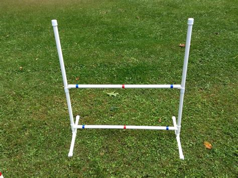 puppy agility equipment agility equipment 20 jump cups 1 quot free plans within