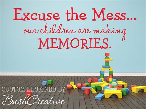 wall stickers for playroom playroom wall decal excuse the mess children are