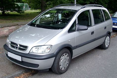 Opel Zafira by Opel Zafira Simple The Free Encyclopedia