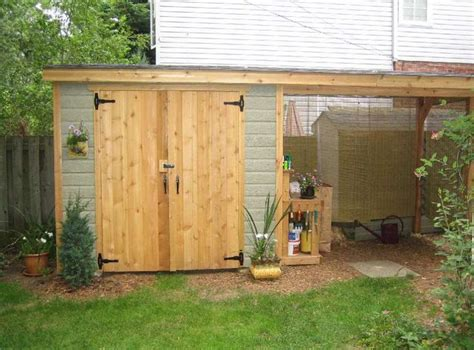Shed Lean To Ideas