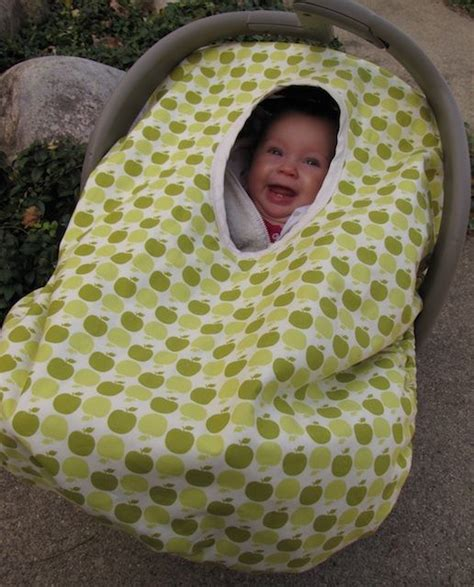 auto car seat cover sewing pattern stroller cover pattern free baby car seat cover