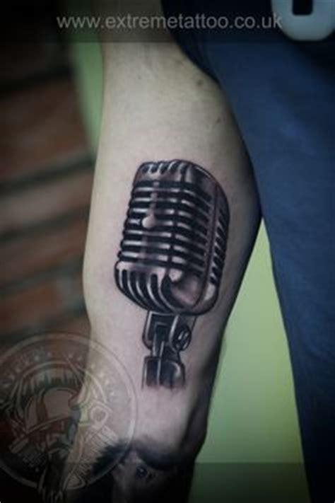 tribal microphone tattoo microphone by benjamin ideas