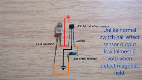 effect sensor switch wiring diagram