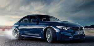 Bmw M 3 2017 Bmw M3 Gets Lci Update Looks In Blue