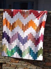 modern color chevron quilt by marmalena modern quilts
