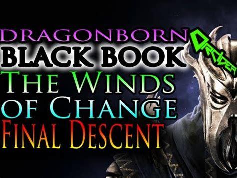 tutorial gitar wind of change skyrim dragonborn black book the winds of change the
