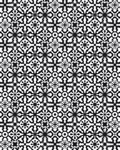 coloring page geometric patterns 2