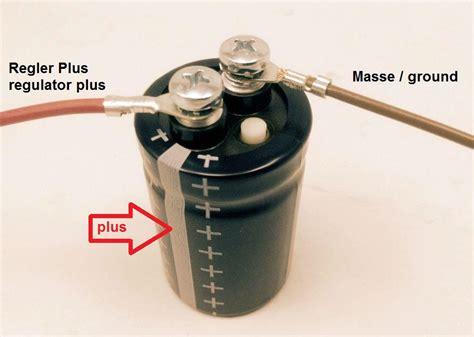 Motorrad Batterie Plus Und Minus Vertauscht by Powerdynamo Gmbh Gl 228 Ttungskondensator