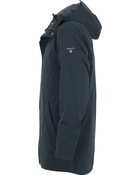 The Gant Parka gant the commuter parka navy hos careofcarl no
