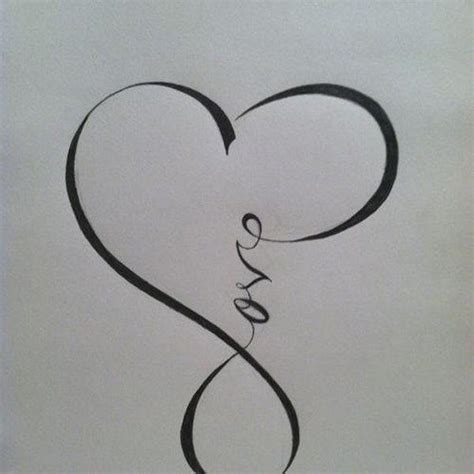 love tattoo with infinity sign 25 best ideas about love symbol tattoos on pinterest