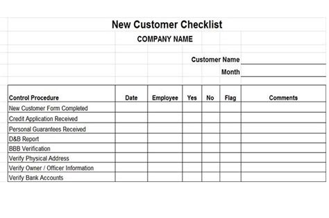 new customer account form template accounts receivable controls vitalics