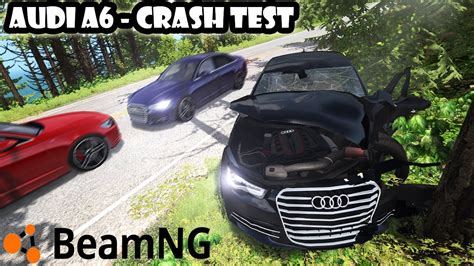 Audi A6 C7 Test by Audi A6 C7 Crash Test Beamng Drive Youtube
