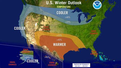 us weather outlook map u s dealt another la ni 241 a winter but card could