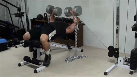 cable bench press machine hybrid chain dumbell cable bench press
