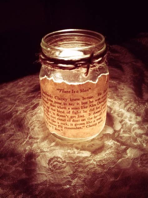 antique mason jar candle wedding decor centerpieces   iPunya