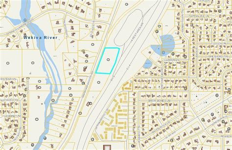 Seminole County Property Tax Records Newly Acquired Land Fronting I 4 Near Longwood Listed For