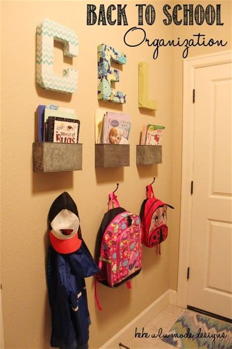 backpack storage ideas 25 school bag storage ideas bags bag storage and