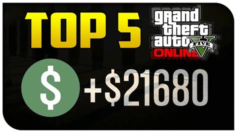 Fun Ways To Make Money Online - top 5 ways to quot make money quot in gta 5 online best most fun gta v youtube