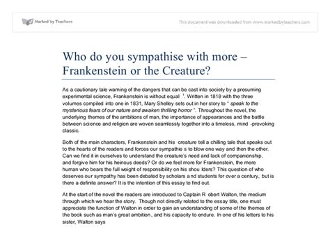 theme essay frankenstein essay themes for frankenstein original content