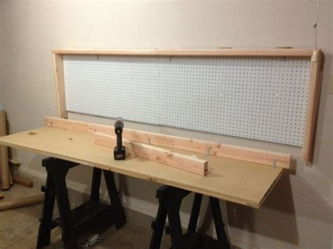 wall mount work bench how to build a wall mounted folding workbench home