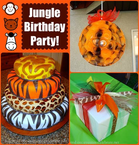 jungle book themed birthday party jungle book party ideas archives events to celebrate