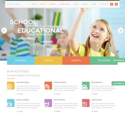 22 teacher wordpress themes templates free premium