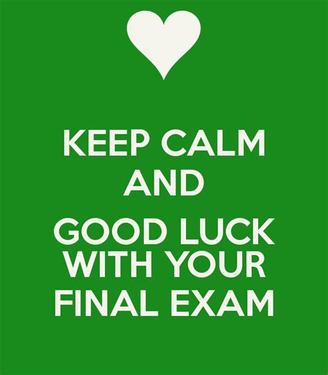funny good luck on finals quotes