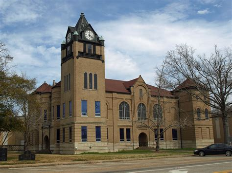 Choctaw County Court Records Choctaw County Courthouse At Butler Al Built 1906