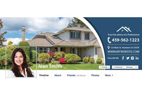 cover design real estate real estate facebook graphic template real estate