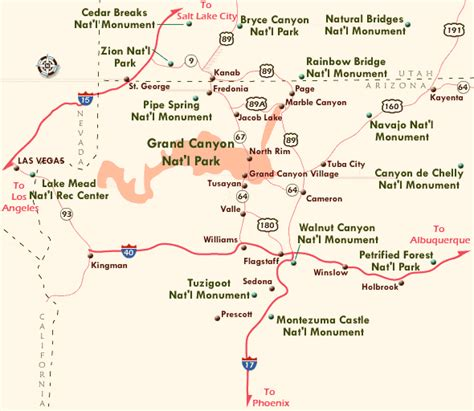 grand map from las vegas images and places pictures and info grand map