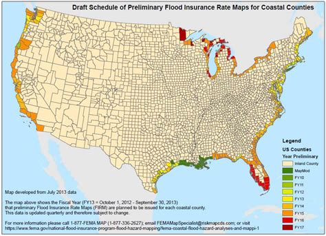 fema cs usa map 20 000 a year for flood insurance survivors