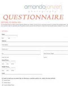 client questionnaire getting to know you amanda janzen