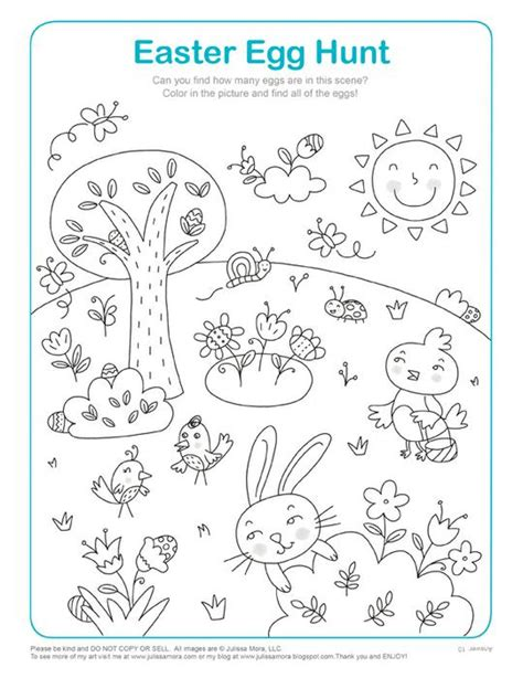 printable easter worksheets for preschool easter egg hunt math activity coloring page