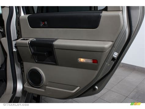 Hummer H2 Interior Door Panel 2003 Hummer H2 Suv Wheat Door Panel Photo 65098104
