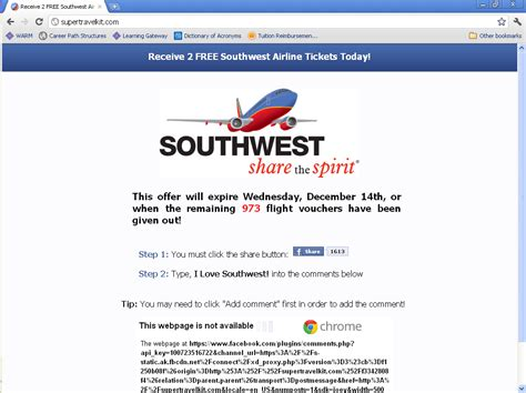 vijay narayanans blog southwest airlines    scam