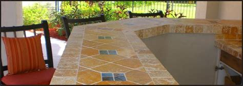 Outdoor Countertop Tile by Mexican Tile Kitchen Countertops Another Exle This