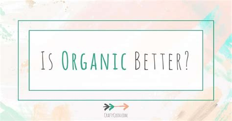is organic really better is organic better weight loss vitamins for