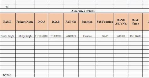 Mba Vs Dba Salary by Employee Salary Details In Excel