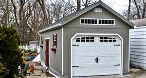 how many square is a 1 car garage 1 car prefab garage horizon structures