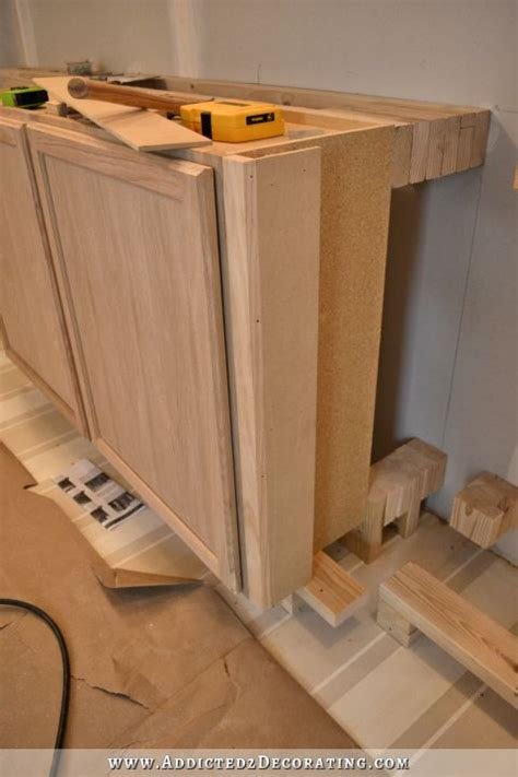 installing upper kitchen cabinets wall of cabinets installed plus how to install upper